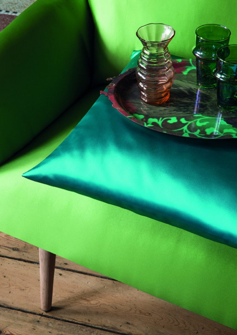 Luxury green decor