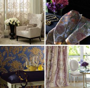 French decor curtains